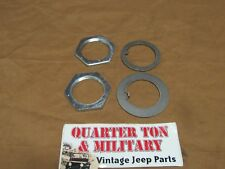 Willys Jeep MB CJ2A CJ3A M38 M38A1 Spindle Hardware one side only