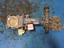 """DEZURIK SIZE-3"""" GATE VALVE W/ CHAIN PULL 9258997"""