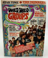 Star Time Magazine Monkees Raiders Turtles Beatles April 1968 Wild Groups 20258A