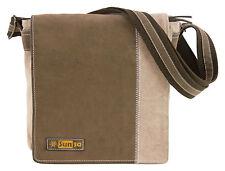 Damentaschen im Messenger-Taschen-Stil mit Unifarben und Reißverschluss