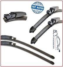 Front Rear Wiper Blades PAIR AUDI A6 MK3 + S6/RS6 Avant Estate 2005-2011