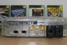 XBOX CRYSTAL mit 9 Spielen & 2Controllern -Games + Konsole in TOP Zustand - 2004