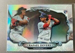 Rafael Devers RC Rookie Card 2018 Bowman Sterling Boston Red Sox Baseball Card
