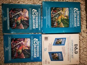TSR Dungeons and Dragons Set 3 Companion Rules