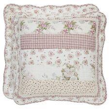 Kissenbezüge CHRISTINE 50x50 Rosali Blumen floral Rosen Rosa Beige Landhaus