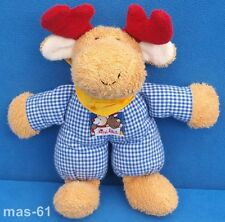 SIGIKID LORD ELCH OSLO STOFFTIER FROTTEE BEANIE 28 CM MOOSE RENTIER PUPPE