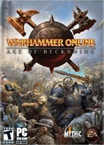 Warhammer Online : Age of Reckoning for PC  (2008, DVD)