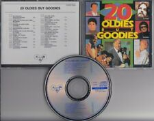 20 OLDIES BUT GOODIES  SWEDISH CD Del Shannon Ritchie Valens Lesly Gore Drifters