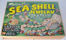 ANTIQUE WALCO SEA SHELL JEWELRY KIT 1945 BEAD KIT