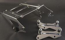 Two up Tour Pak luggage rack + 4 point docking kit Harley Davidson Touring 2014