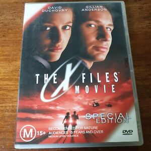 The X Files Movie DVD R4 Like New! FREE POST