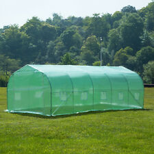 New Portable Larger Green House Walk-In Hot Greenhouses Gardening Plant Outdoor