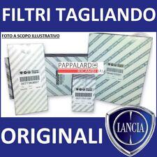 KIT TAGLIANDO FILTRI ORIGINALI LANCIA YPSILON 1.2 BENZINA GPL GAS 69CV dal 2012