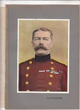 Field Marshal Horatio Herbert Kitchener  British Army WWI 14/18 ILLUSTRATION 20s