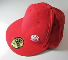 New Era Atlanta Hawks 59Fifty Hat Fitted Cap Size 7 3/8 Or 59cm Retail $34.99