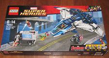 New LEGO Marvel Superheroes AVENGERS QUINJET CITY CHASE #76032 NIB Iron Man