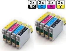 Lot de 8 cartouches d'encre compatibles T0715  pour Epson Stylus .SX115