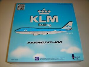 1/200 Inflight200 KLM Royal Dutch Airlines Boeing 747-400 City of Beijing PH-BFU