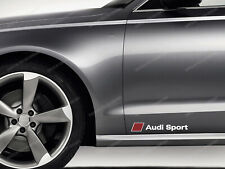 2 x Audi Sport Sticker for Doors A1 A3 A4 A5 A6 S3 TT Q2 Q3 Q5 S3 S4 RS