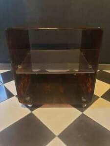 Plexiglas coffee table