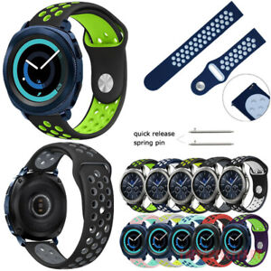 Sport Silicone Band Watch Bracelets For Samsung Gear S3 Frontier Classic 22mm