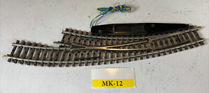 """Marklin HO K Track Right Curved Switch Points """"Turnout"""" - 2267 MK-12"""