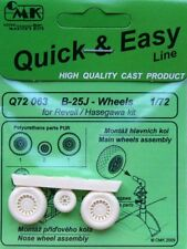 CMK 1/72 B-25J Mitchell Wheels for Haseagwa / Revell # Q72063