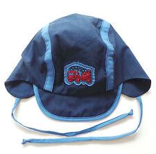 Mütze Gr.45 Sterntaler NEU UV 50+ 100% Baumwolle blau Feuerwehr baby sommer SSV