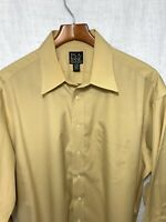 Jos A. Bank Travelers Collection Men's Button Down Dress Shirt Sz 17-33
