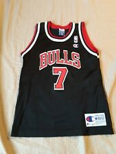 Vintage Champion Chicago Bulls Toni Kukoc Jersey  youth size M 10-12