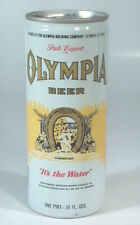 Vintage Olympia Pint 16oz Tall Beer Can Aluminum Olympia Wa Bottom Opened