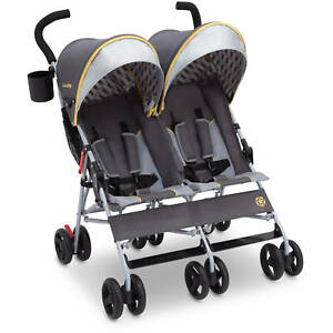 Jeep Scout by Delta Children Double Stroller, Spot On (LOC 712)