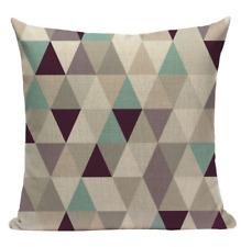 Green Pattern GG2 Cushion Pillow Cover European Design Stylish Modern Geometric