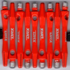 1.5in. 2ba ORANGE DRX Coated Aluminum Dart Shafts: 1 set of 3