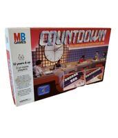 Countdown Board Game - Vintage - 1987 - MB Games