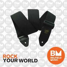 Ernie Ball 4037 Polypro Guitar Strap Super Long Black Adjustable