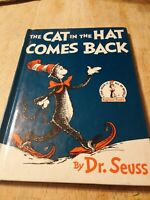 The Cat in the Hat Comes Back – FIRST EDITION DJ – 1st Printing – Dr. Seuss 1958