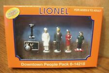 LIONEL TRAINS DOWNTOWN PEOPLE 6-14218 LIONELVILLE PEOPLE PACK O GAUGE