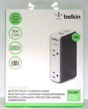 Belkin Travel Rockstar USB & Dual Outlet Surge Protector Battery Pack