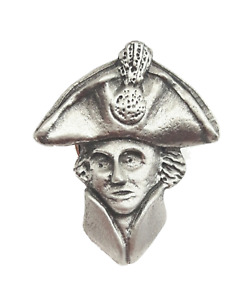 Nelson Handcrafted From English Pewter Lapel Pin Badge