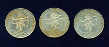 "MEXICO   1968  25 PESOS ""OLYMPIC"" SILVER COINS, AU/UNCIRCULATED! LOT OF (3)!!"
