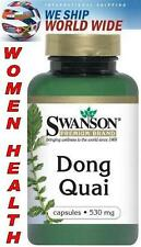 """DONG QUAI ROOT ANGELICA SINENSIS - 530 mg - 100 Capsules - """"FEMALE GINSENG"""""""
