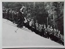 Kosmos Bild 41 Olympia 1952 Oslo # Othmar Schneider (Österreich) Abfahrtslauf