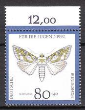BRD 1992 Mi. Nr. 1604 Postfrisch Oberrand TOP!!! (10508)