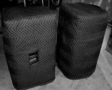 JBL PRX 515 PRX-515 Premium Padded Black Speaker COVERS (2)   Qty of 1 = 1 Pair!