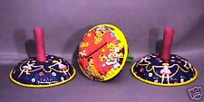 Vintage Old 3 Pc. Lot Tin Metal Noisemakers Kirchof