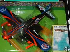 MLB New York Mets P-51 Mustang Fighter Plane, NEW