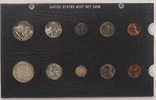 1958 UNITED STATES YEAR MINT SET BLACK HOLDER (001)