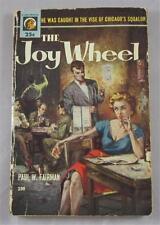 JOY WHEEL PAUL W FAIRMAN 1954 LION #190 1ST ED PAPERBACK PB