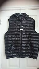 DKNY Size L New Winter Men's Down Quilted Sleeveless Vest Padded Warm Jacket...